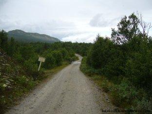 Unterwegs auf Schotter