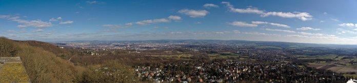 Aussicht Bismarckturm